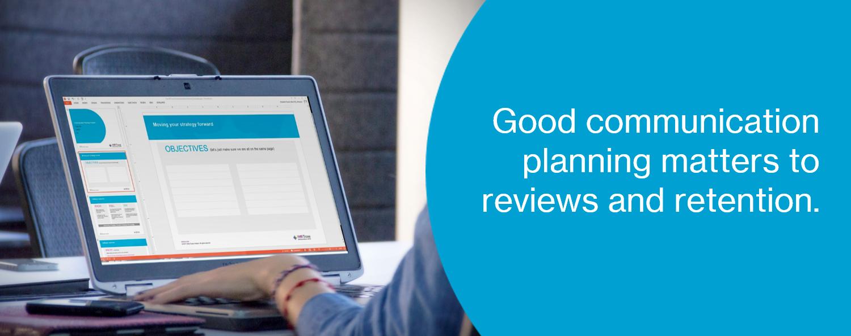 Communication Planning Template Landing Page Thumbnail